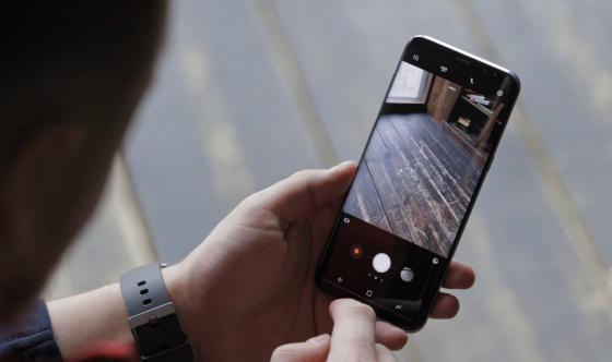 Обзор Samsung Galaxy S8 - съемка фото 1