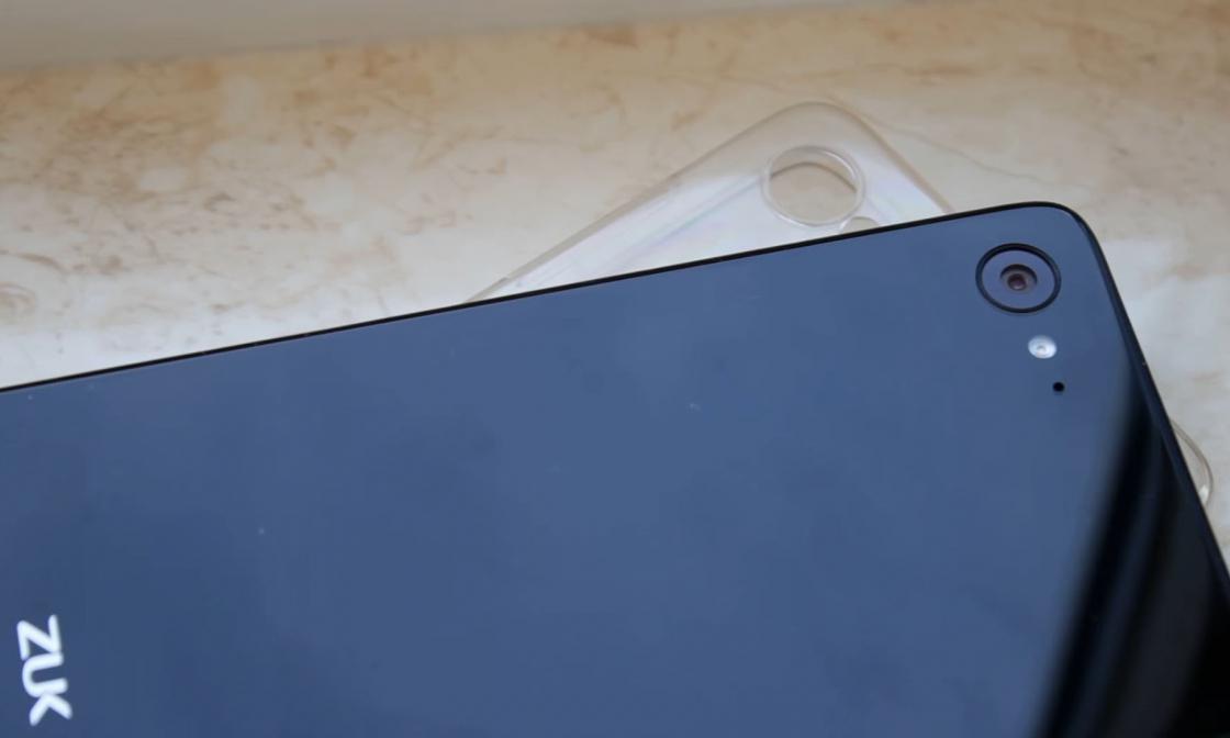 Обзор ZUK Z2 - в комплекте с чехлом
