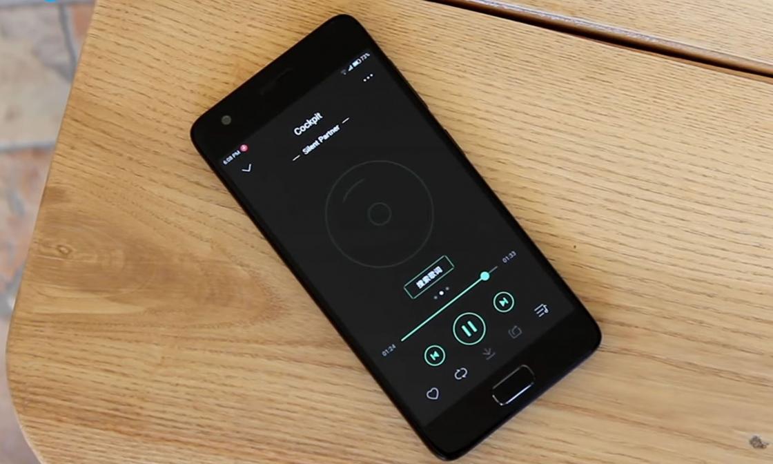 Обзор смартфона ZUK Z2 - вид плеера