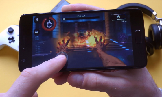 Обзор смартфона ZUK Z2 - тестирование игры (фото 2)