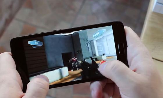 Обзор смартфона ZUK Z2 - тестирование игры (фото 5)