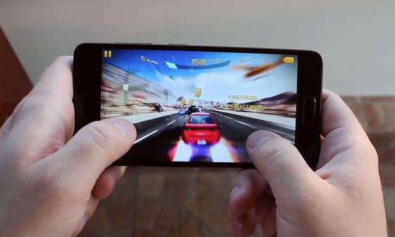 Обзор смартфона ZUK Z2 - тестирование игры (фото 3)
