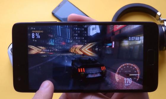 Обзор смартфона ZUK Z2 - тестирование игры (фото 1)