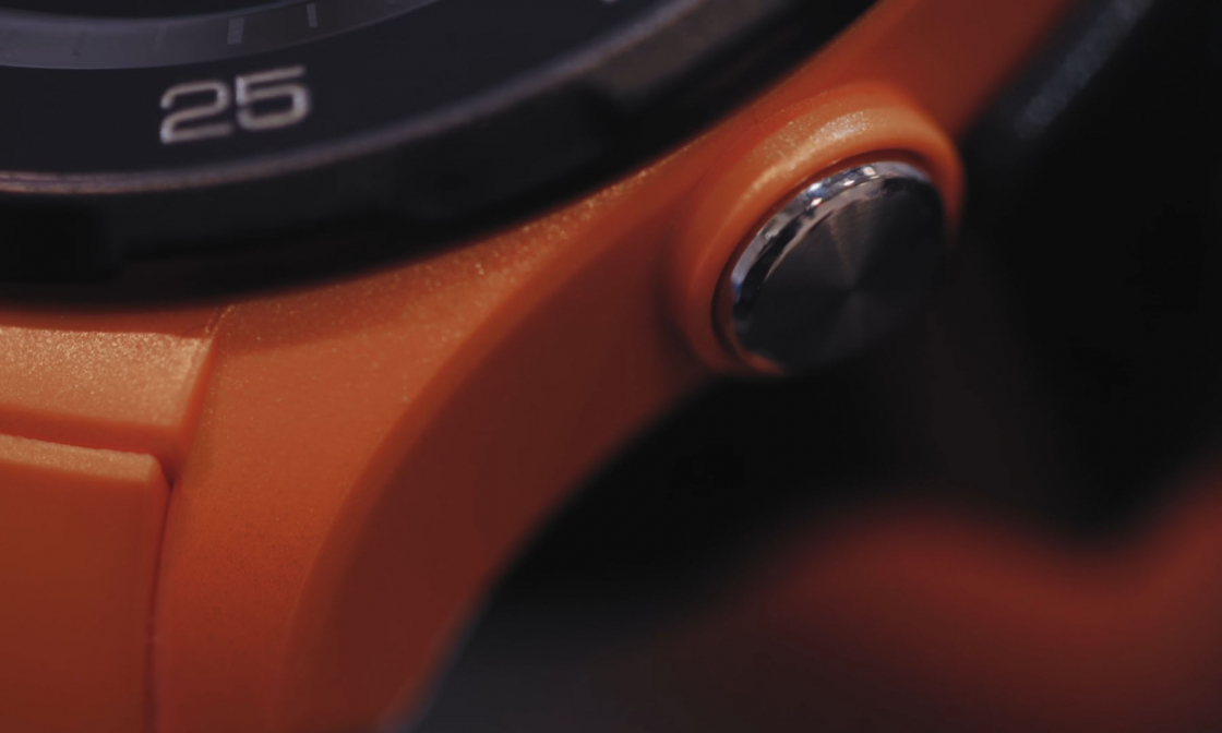 Обзор Huawei Watch 2 - нижняя кнопка