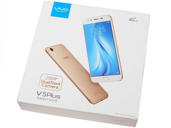 Обзор vivo V5 Plus - упаковка