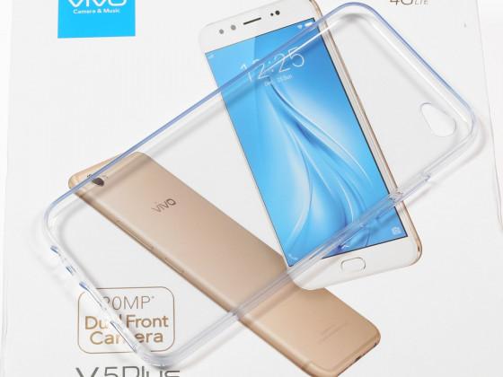 Обзор vivo V5 Plus - прозрачный чехол в комплекте