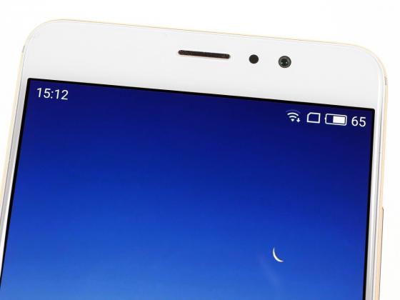 Обзор Meizu Pro 6 Plus - верхняя часть экрана