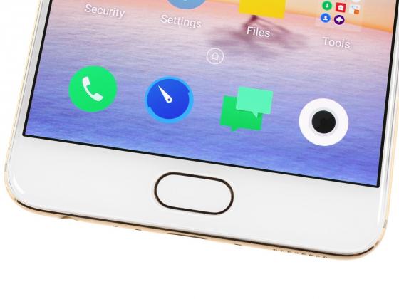 Обзор Meizu Pro 6 Plus - кнопка с сенсором