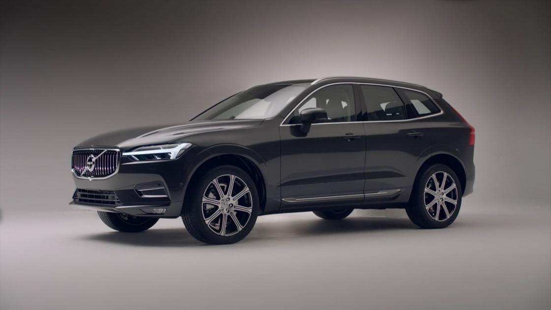Обзор Volvo XC602017 - боковые линии