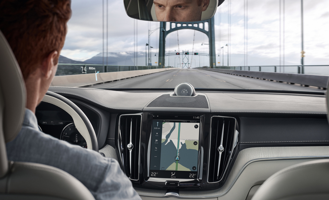 Обзор Volvo XC602017 - полуавтономное вождение