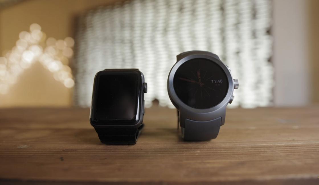 Обзор LG Watch Sport - в сравнении с AppleWatch 42 мм