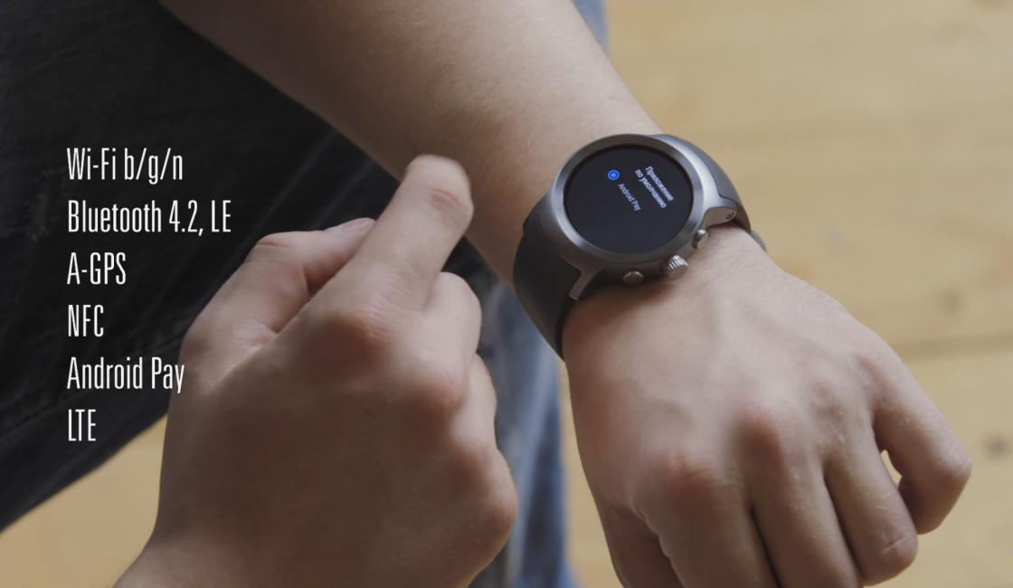 Обзор LG Watch Sport - встроенные интерфейсы