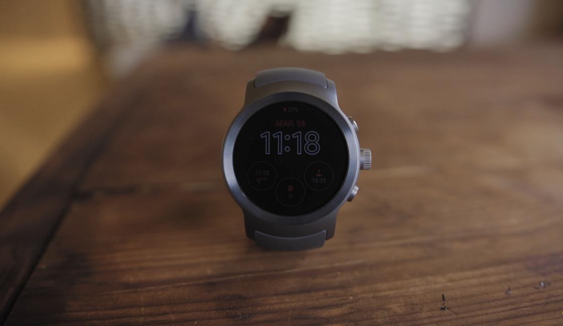 Обзор LG Watch Sport