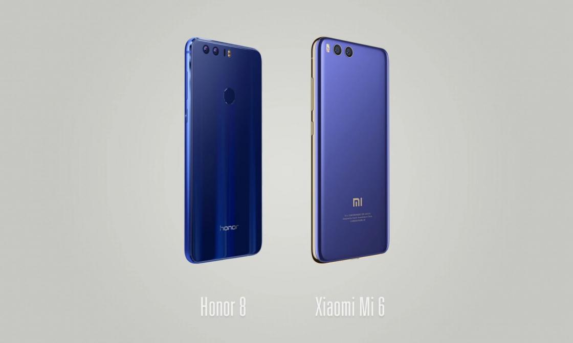 Обзор Xiaomi Mi 6 - сравнение с Honor 8