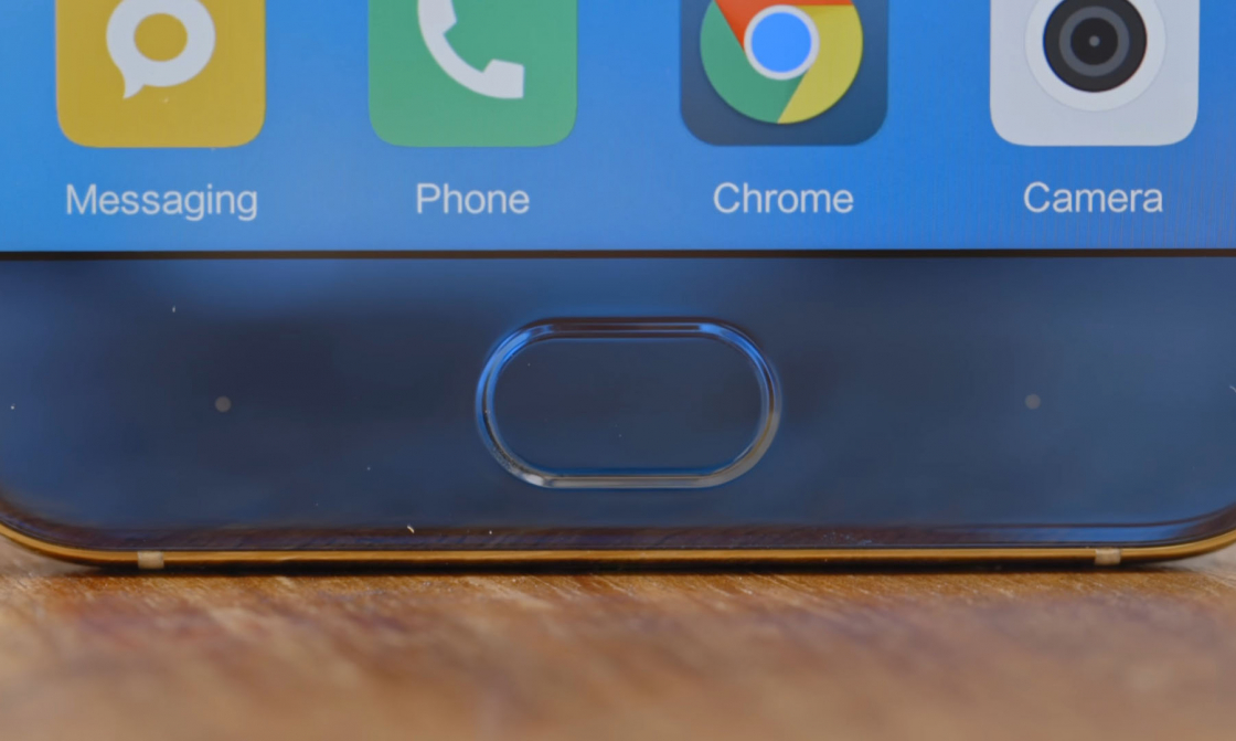 Обзор Xiaomi Mi 6 - сканер отпечатка пальца