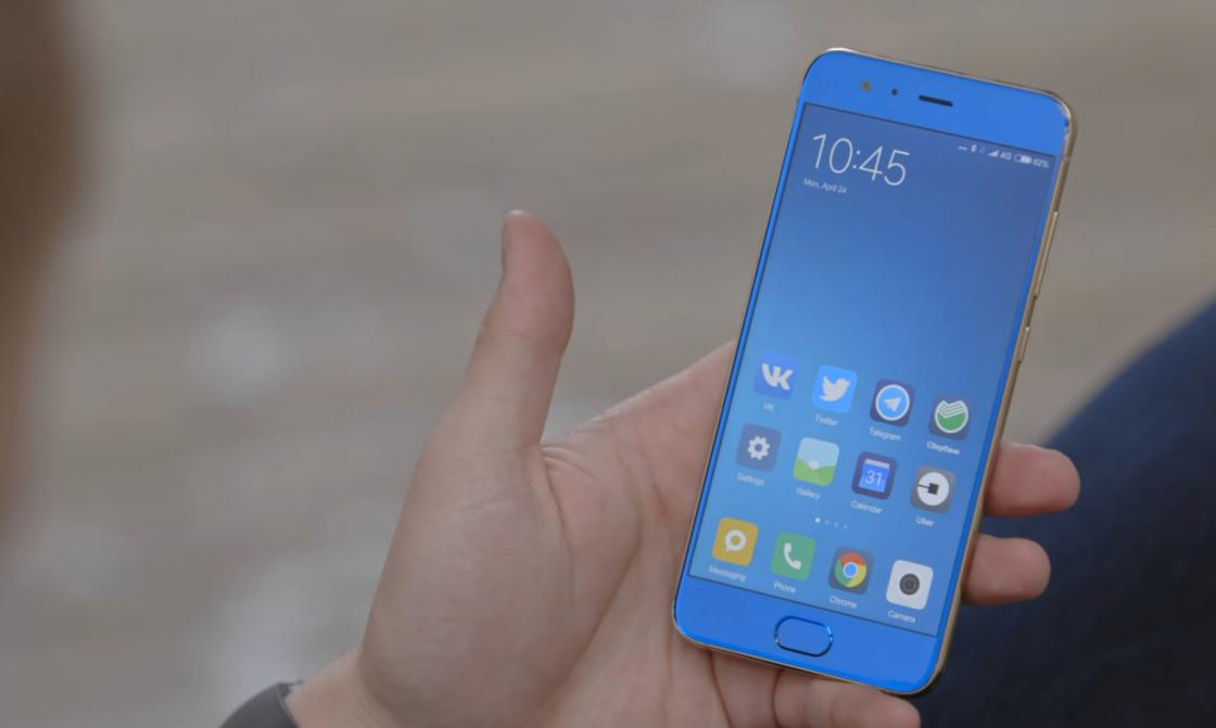 Обзор Xiaomi Mi 6 - прикосновение пальца вызывает неприятную вибрацию