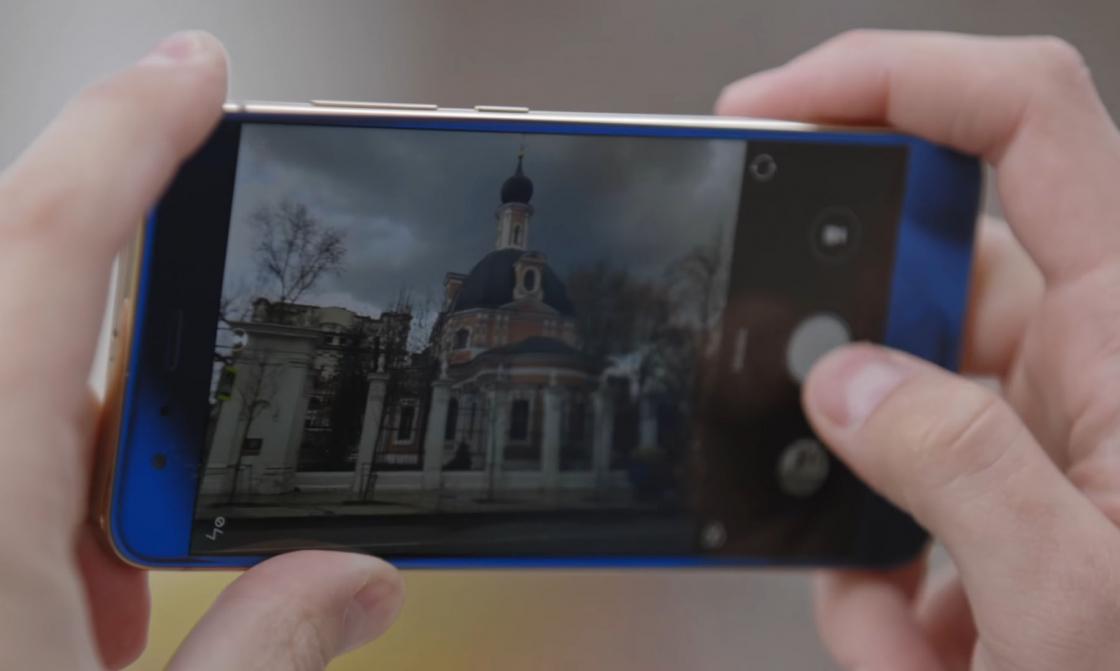 Обзор Xiaomi Mi 6 - съемка